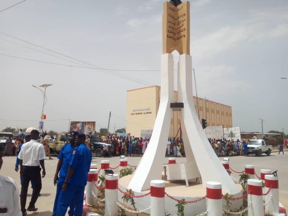 Tchad : un tout premier rond-point inauguré dans la ville d'Abéché