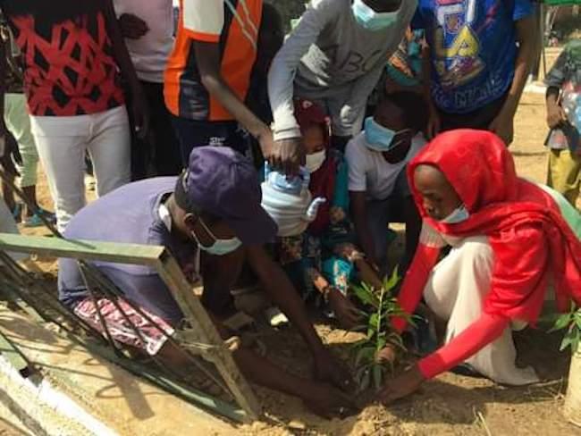 Tchad : les jeunes du 4e arrondissement de N'Djamena engagés pour la salubrité