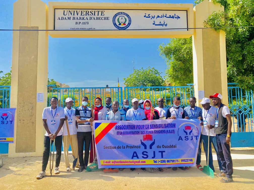 Tchad : une journée d'assainissement à l'UNABA à l'approche de la rentrée