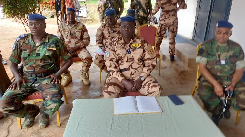 Tchad : le DG de la gendarmerie a tenu une réunion sécuritaire à Moundou