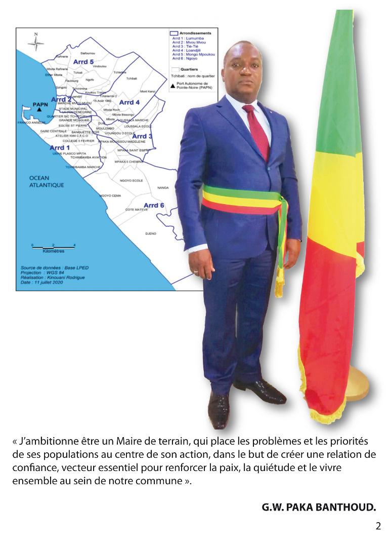 Genest Wilfrid PAKA BANTHOUD, Administrateur Maire de Ngoyo