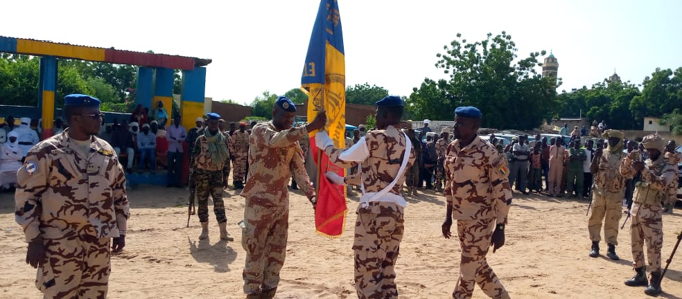 Tchad : au Sila, le commandant de la légion n°22 installé à Goz Beida