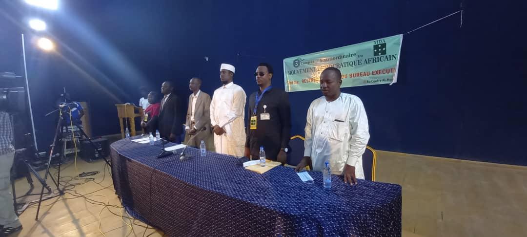 """Tchad : en congrès extraordinaire, le parti MDA prône le """"devoir patriotique"""""""