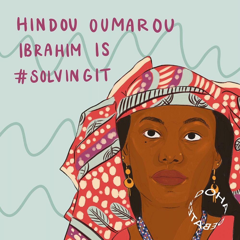 Doha Debates : la Tchadienne Hindou Oumarou Ibrahim parmi les lauréats