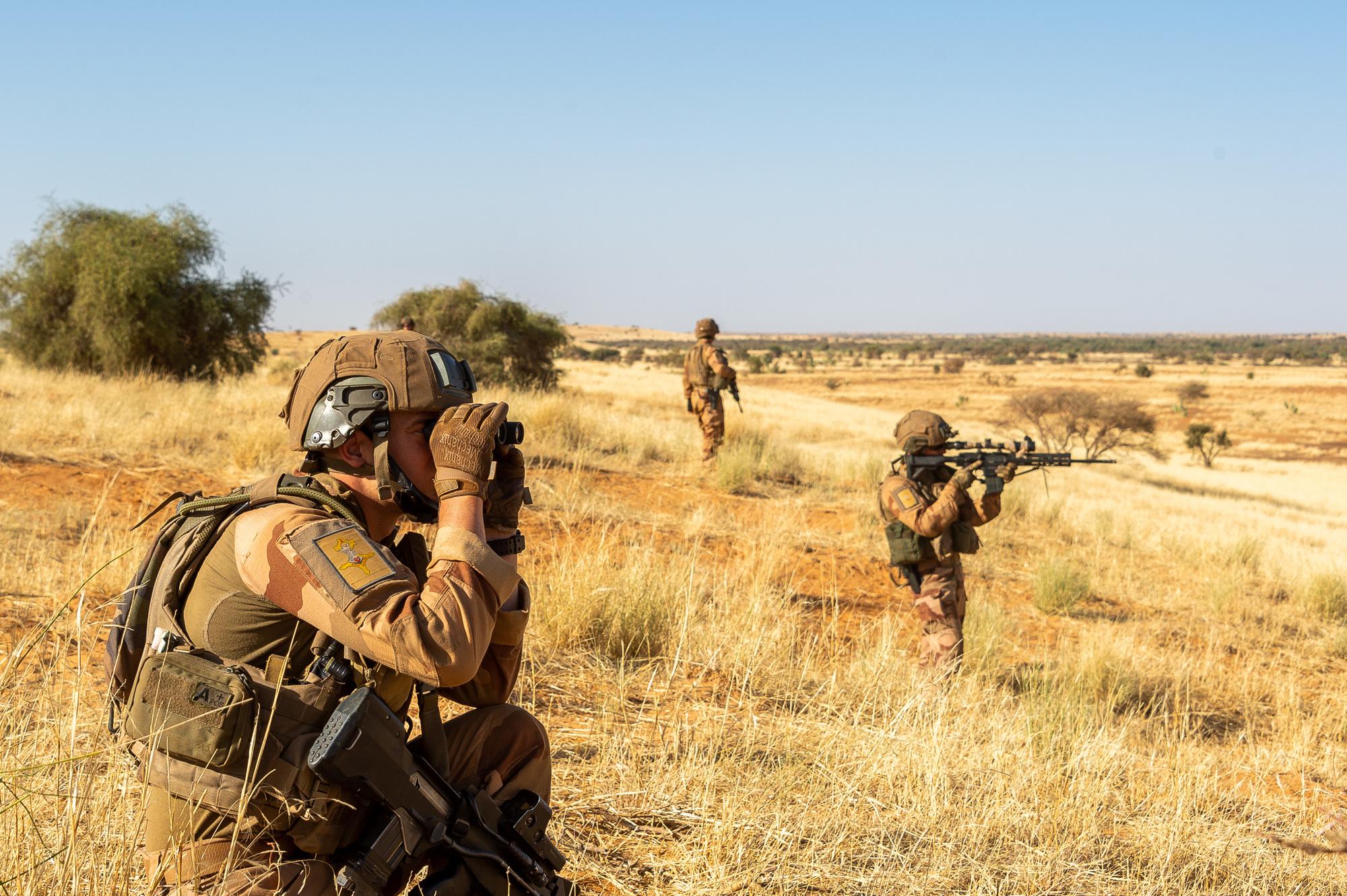 Des soldats français en opération au Mali. Illustration © État-major des armées/Ministère de la Défense