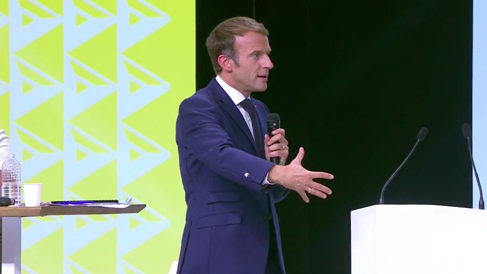 """Tchad : """"c'est une transition, pas une transmission"""" (Emmanuel Macron)"""