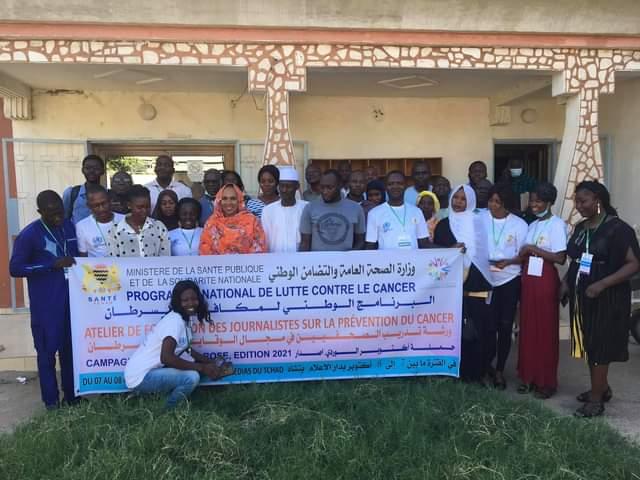 Octobre Rose au Tchad : le PNLC mobilise les médias pour la lutte contre le cancer