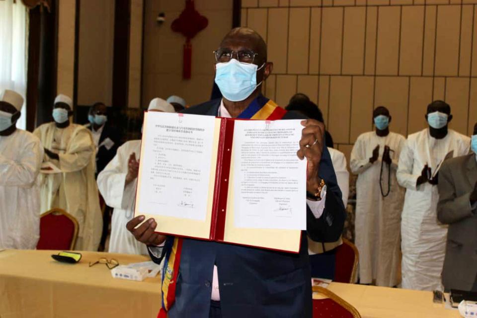 Un accord de jumelage entre N'Djamena et la ville chinoise de Chongqing