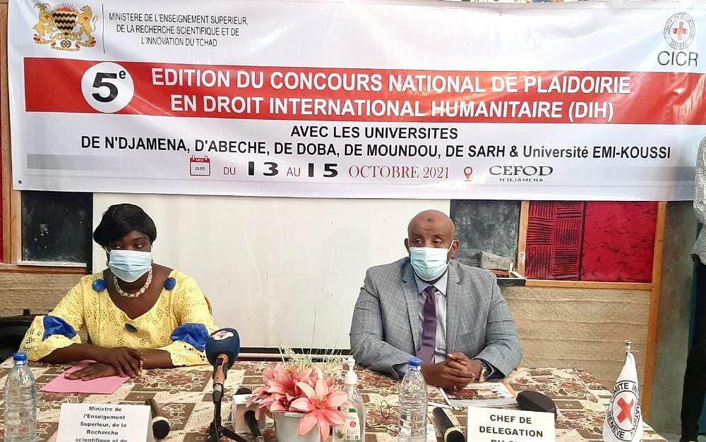 Tchad : lancement du concours national de plaidoirie en droit international humanitaire