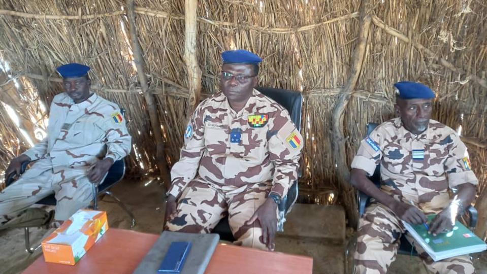 Tchad : le directeur de la gendarmerie inspecte la légion n°18 de Massakory