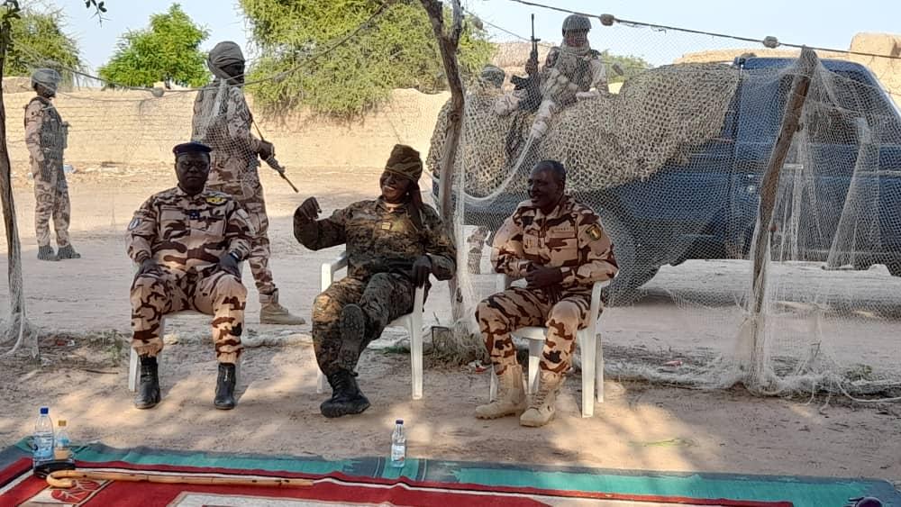 Tchad : le directeur général de la Gendarmerie en visite au Batha