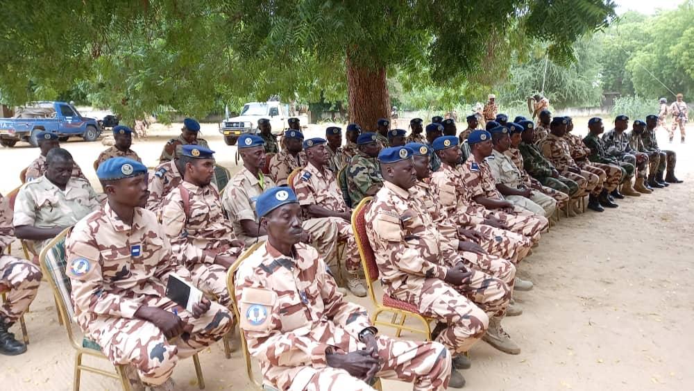 Tchad : en mission au Batha, le directeur de la gendarmerie donne des orientations