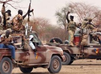 L'armée tchadienne. Photo non datée. Crédit photo : Sources