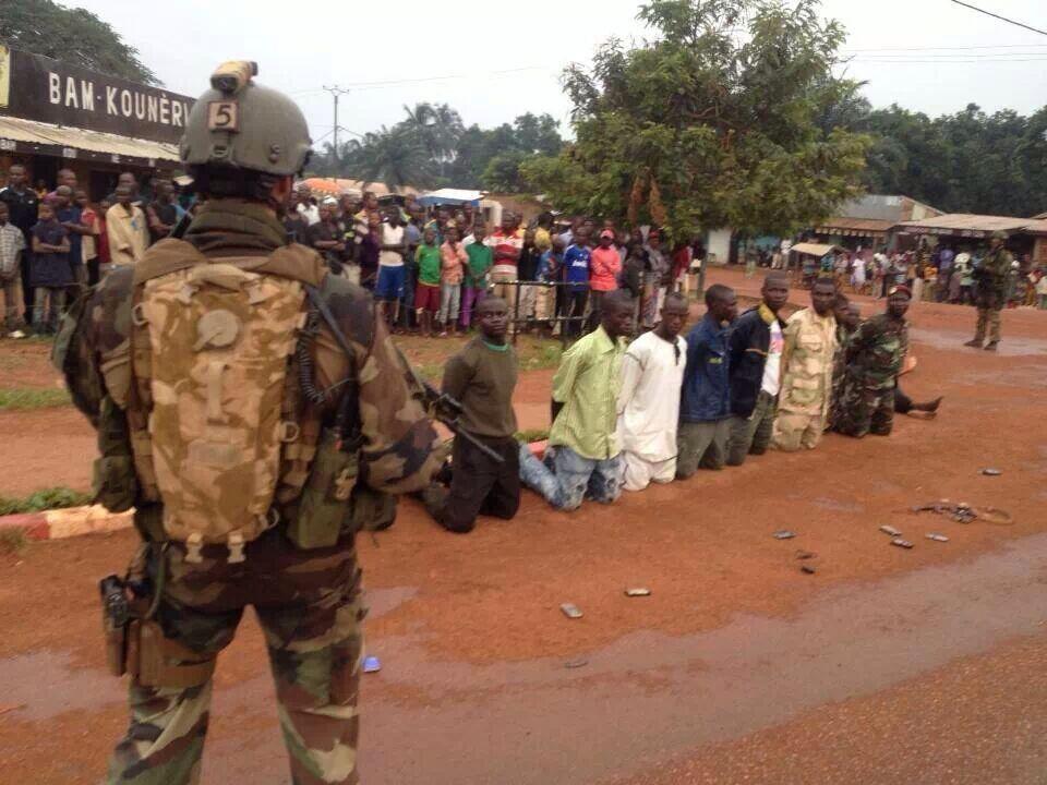Centrafrique : Des militaires qui arrêtent des militaires !