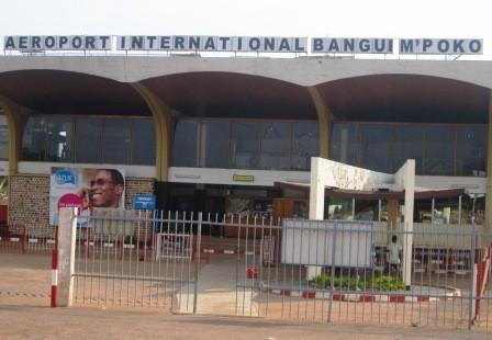 L'aéroport International de Bangui. Crédit photo : Sources