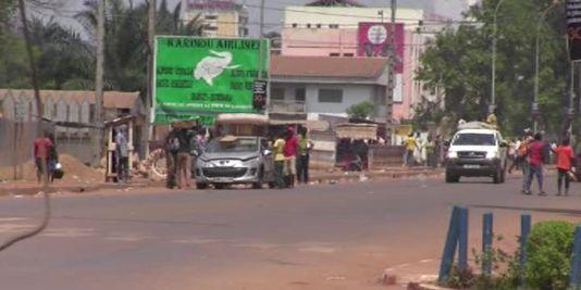 Bangui, le 24 mars 2013. | AFP/LEGER KOKPAKPA