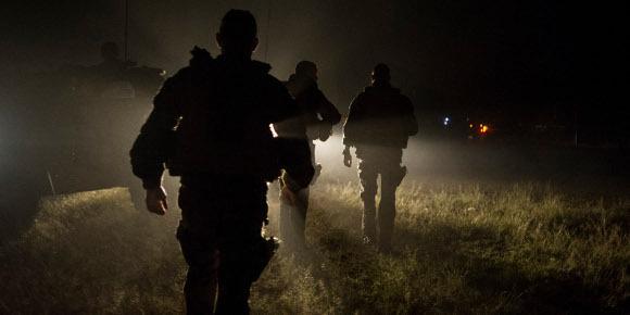 """Quelque 1.600 soldats français sont désormais """"engagés dans l'opération Sangaris"""" en Centrafrique. (Fred Dufour - AFP)"""