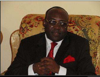 L'ancien candidat aux présidentielles en Centrafrique, Émile Gros Raymond NAKOMBO. Crédit photo : Sources
