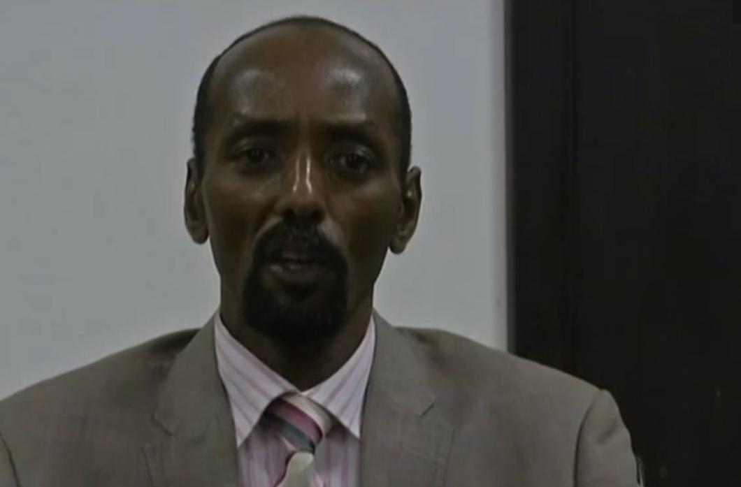 Abakar Saboun, conseiller du Président de la Transition Michel Djotodia, ex-ministre et haut-gradé de l'ex-Séléka.