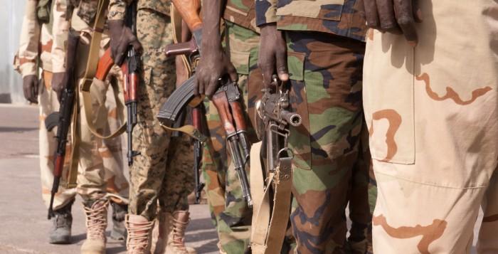 Militaires tchadiens. (@Ecpad)