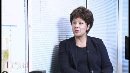 Marie-Reine Hassen, Présidente du MRC et ex-ministre de Centrafrique. Crédit photo : Sources