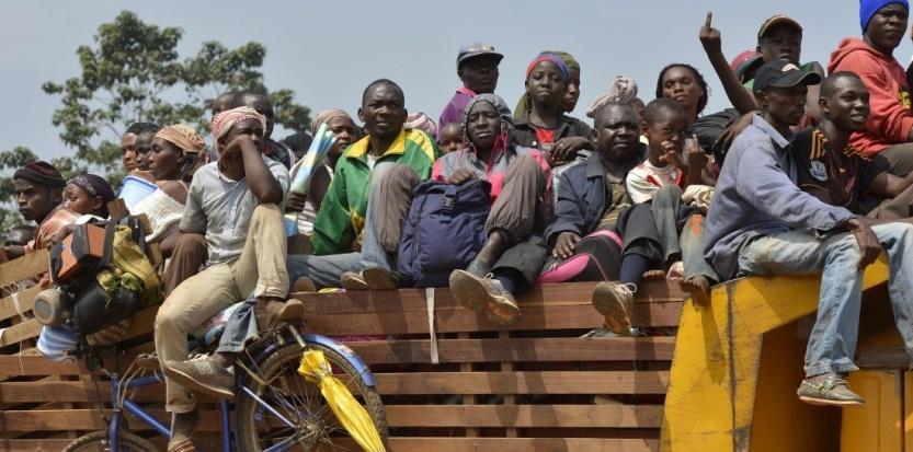 Centrafrique: Les tchadiens fuient en masse pour échapper à la mort