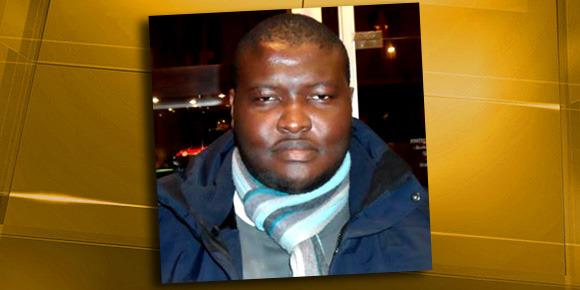 François Nelson Ndjadder, président des Forces Révolutionnaires pour la Démocratie en Centrafrique. (Harold Hyman - BFMTV)