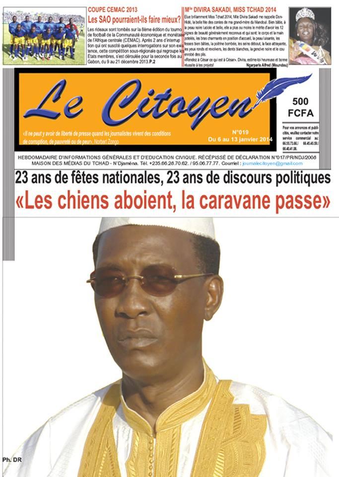 Tchad : 23 ans de fêtes nationales, 23 ans de discours politiques