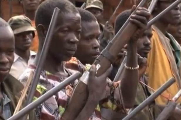 Des milices Anti-Balaka. Crédit photo : Sources