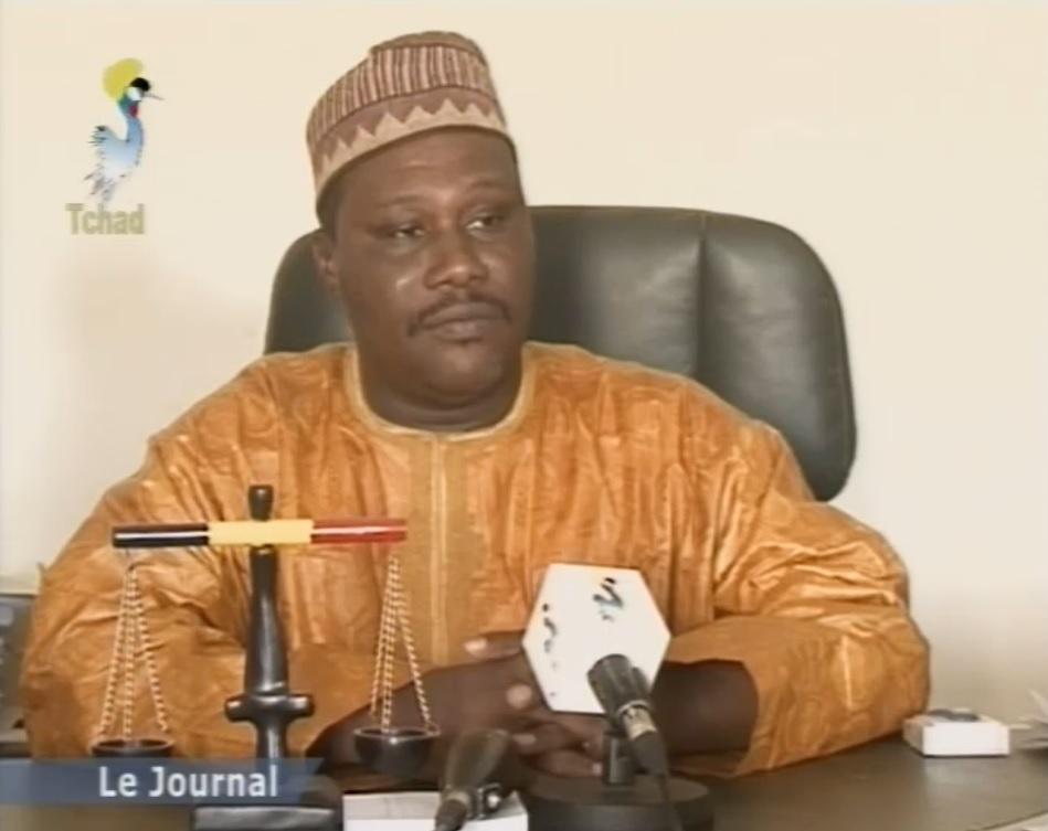 Le procureur de la République, Ousman Mamadou Affono. Crédit photo : Télé-Tchad