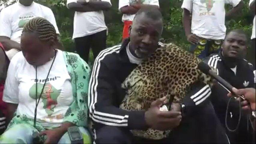 Le chef de l'Association des paysans centrafricains (APC).