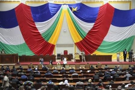 Le Conseil National de Transition en Centrafrique. Crédit photo : Sources