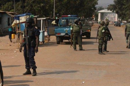 Bangui : Les forces de la MISCA et l'armée centrafricaine déployés à Sango après le lynchage d'un tchadien © Diaspora Media.