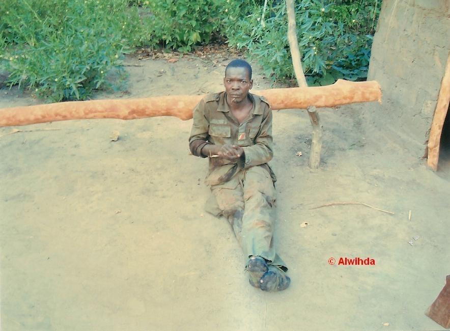 Un prisonnier de l'armée centrafricaine au main des rebelles du FDPC/ex-Séléka. © Alwihda Info