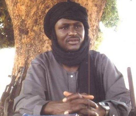 Baba Laddé, leader du FPR.
