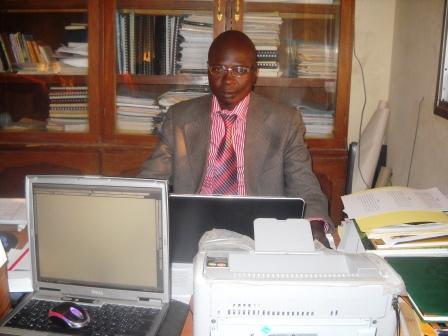 Dinamou Daram, ingénieur de construction urbaine et consultant auprès des projets. Photo : Alwihda Info/MR