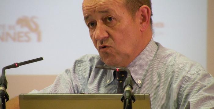Jean-Yves Le Drian? ministre français de la défense. (@Wikimedia Commons)