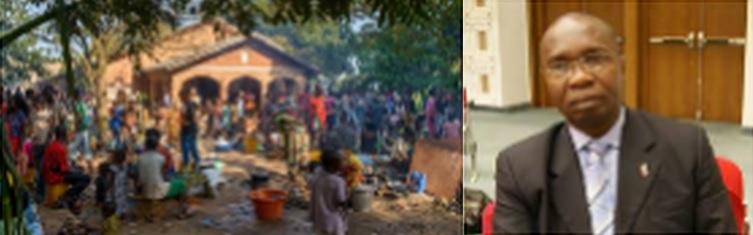 Centrafrique : L'UNFPA au chevet des déplacés internes à Bangui