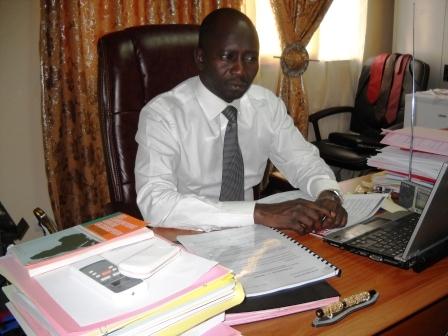 Djamal Dirmy Haroun, Secrétaire Général du Ministère de l'assainissement public et de la promotion de la bonne gouvernance. Alwihda Info/M.R.