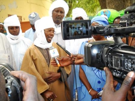 Le chef de canton de Lila, Abdelkerim Charfadine. Alwihda Info/M.R.