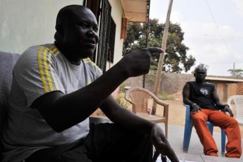 Le coordonnateur national du mouvement anti-balaka, Patrice Edouard Ngaissona.