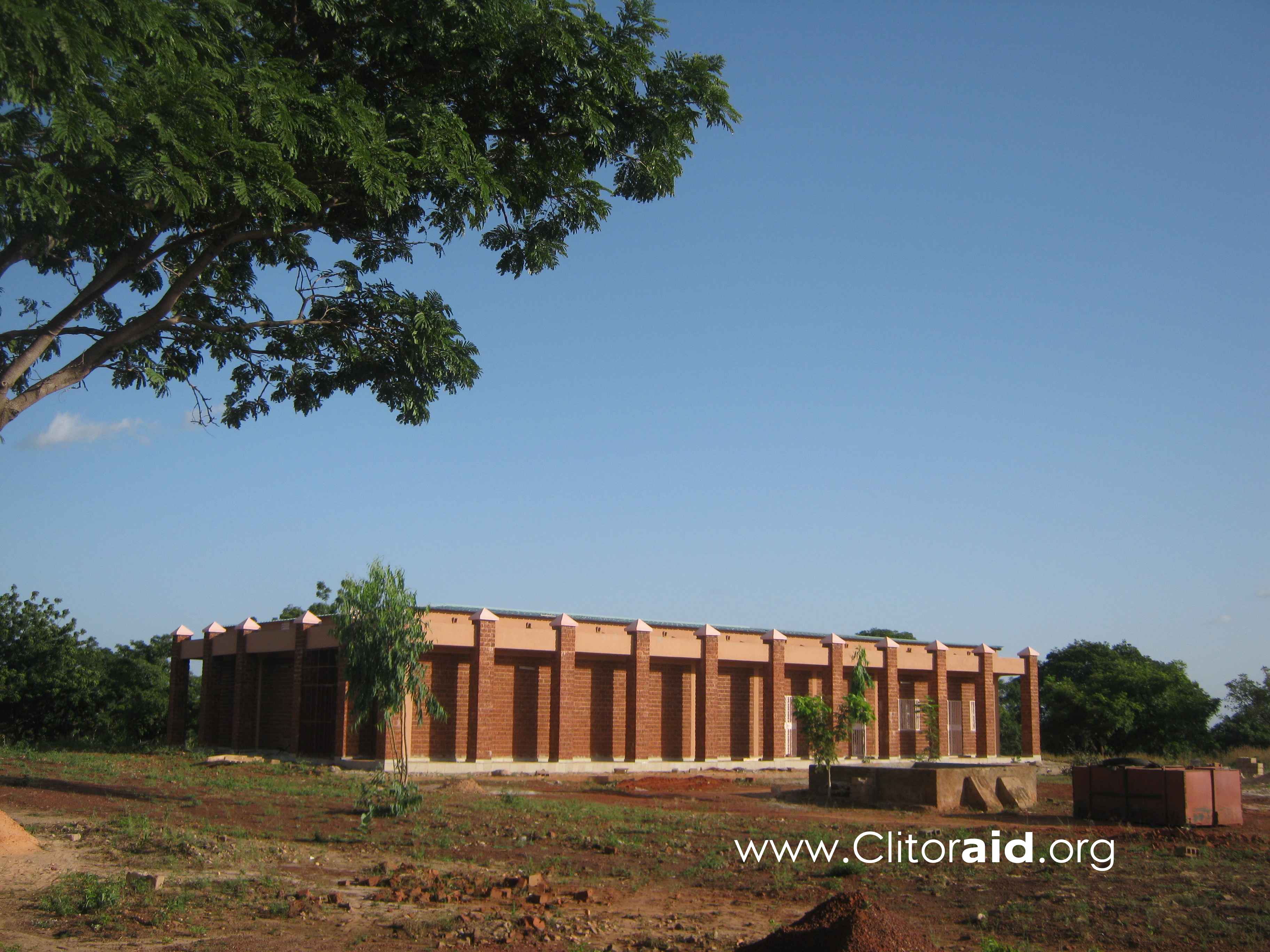 L'hôpital Kamkaso, au Burkina Faso, en Afrique de l'Ouest