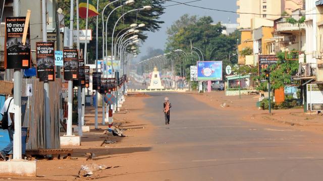 Les rues de Bangui. Photo : AFP