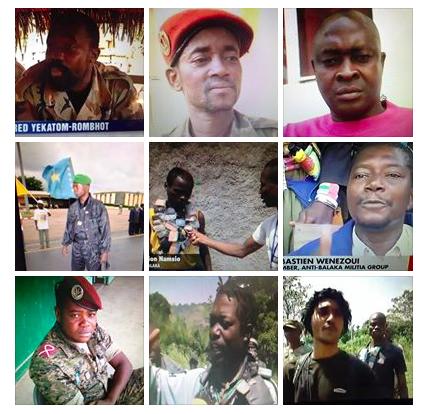 Ces douze chefs Anti-Balaka qui ont assassiné près de 10.000 musulmans de RCA
