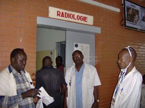 Le service radiologie d'un hôpital au Tchad. Crédit photo : Sources