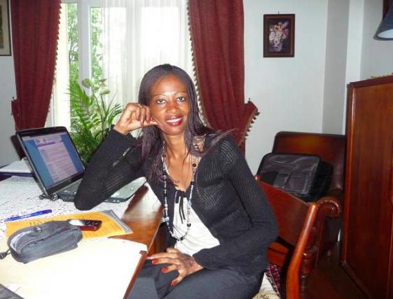 La Présidente de de l'Union Nationale pour l'Alternance au Tchad (UNAT), Mme Ndjelar Koumadji.