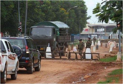 Bangui : Panique générale, violents affrontements à l'arme lourde