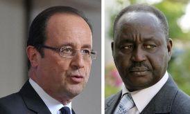 François Hollande et François Bozizé.