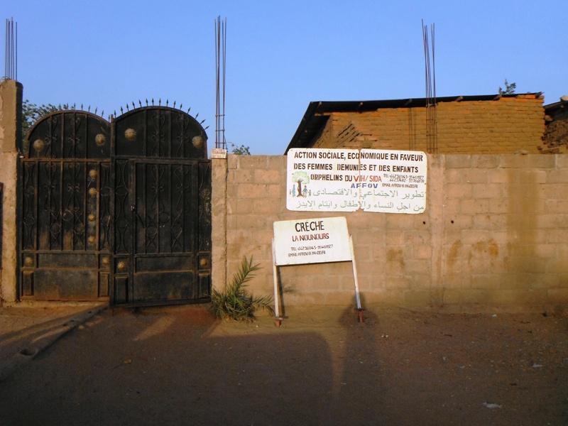 Le siège de l'association AFFOV à N'Djamena. Alwihda Info