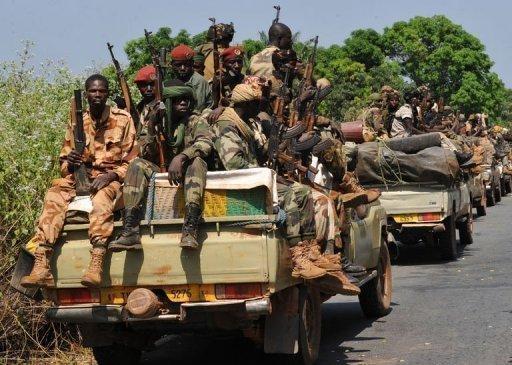 Bangui : Tirs à l'arme lourde, embuscade contre 7 véhicules de l'armée tchadienne